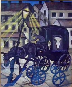 Karroca natën - Hugo Scheiber, 1930