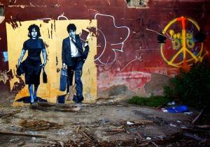 Mamma Roma & Ettore, grafit në Romë - Zilda