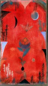 Paul Klee - Mit i lules, 1918