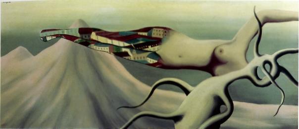 Les grande voyages, 1926, Rene Magritte