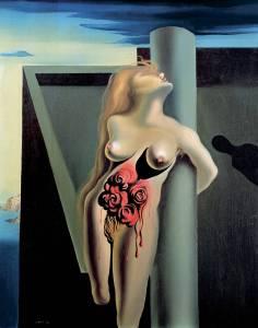Trëndafil i gjakosur - S.Dali, 1930