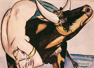 Max Beckmann - Rrëmbimi i Europës, 1933
