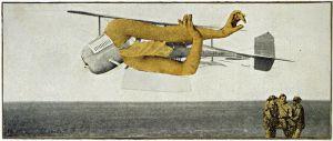 Max Ernst - Murdering Airplane, 1920