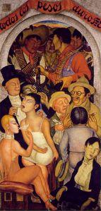 Diego Rivera - Nata e të pasurve, 1928