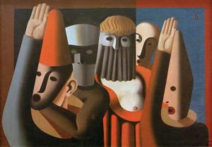 Heinrich Hoerle - Maskat, 1929