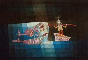 Paul Klee: Sinbad detari, 1923