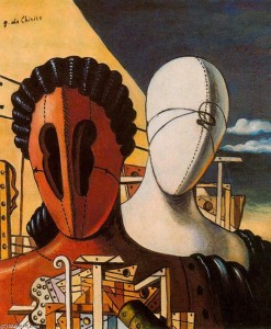 Giorgio de Chirico - Dy maskat, 1926