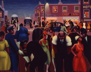 Archibald J. Motley Jr. - Black Belt, 1934