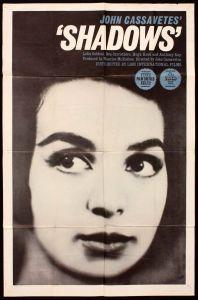 """Poster për """"Shadows"""", 1959 (J. Cassavetes)"""