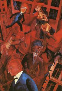 Metropolis, 1917 - George Grosz