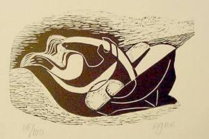 Eileen Agar - Dy të dashuruar, 1931