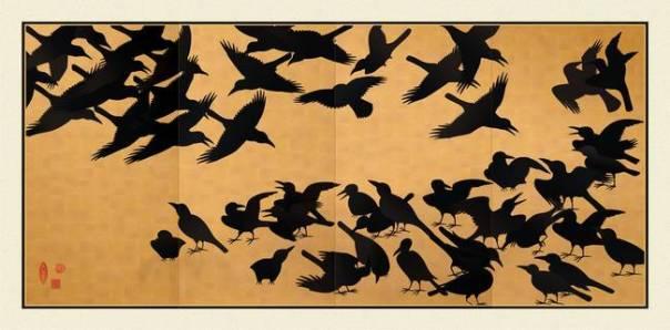 Korba - Print japonez, shek XVII