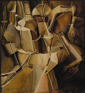 Kapërcimi prej vajzës në nuse - Marcel Duchamp, 1912