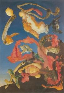 Fluturimi ëndërror i Sonia Araquistain - Ithell Colquhoun, 1945