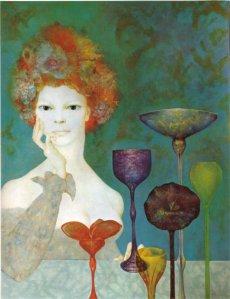Rojtarja e burimeve - Leonor Fini, 1967