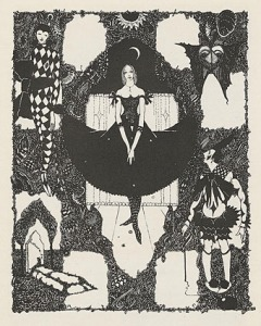 Harry Clarke - Columbine, 1922