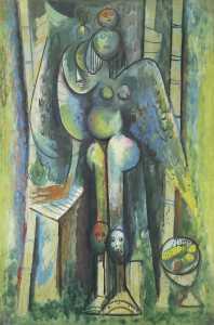 Wifredo Lam - Mëngjesi i gjelbër, 1943
