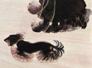 Giacomo Balla - Dinamizëm i një qeni të lidhur, 1912