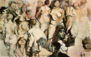 Renato Guttuso - Turma, 1960